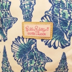 Lilly Pulitzer Bags - LILLY PULITZER shell beach bag